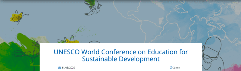 Thumbnail image for UNESCO World Conference on Education for Sustainable Development (ESD)